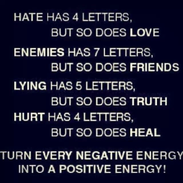 Turn Every Negative Energy Into A Positive Energy Love Quotes For Him All Quotes Quotes