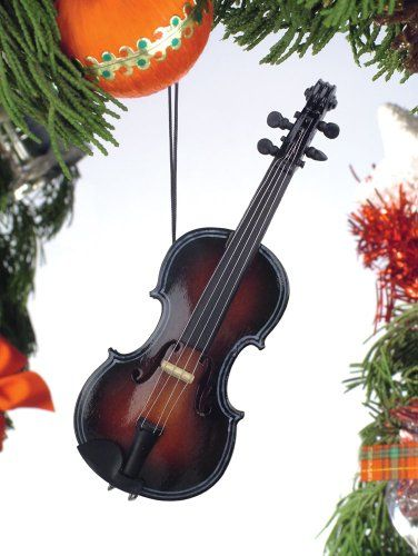 Fiddle Christmas Ornament -- Visit the image link more details. - Music Treasures Co. Fiddle Christmas Ornament -- Visit The Image