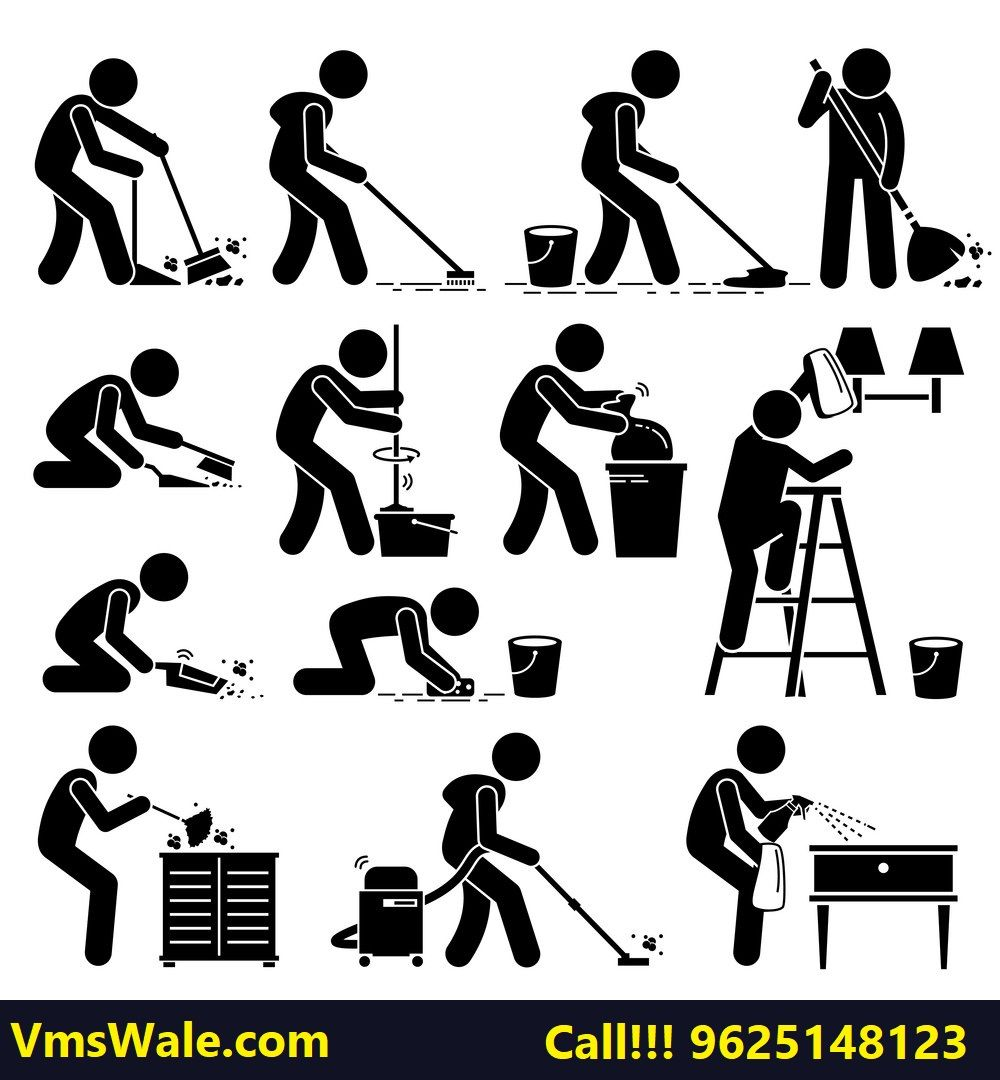 VmsWale Professional Home Deep Cleaning Service includes