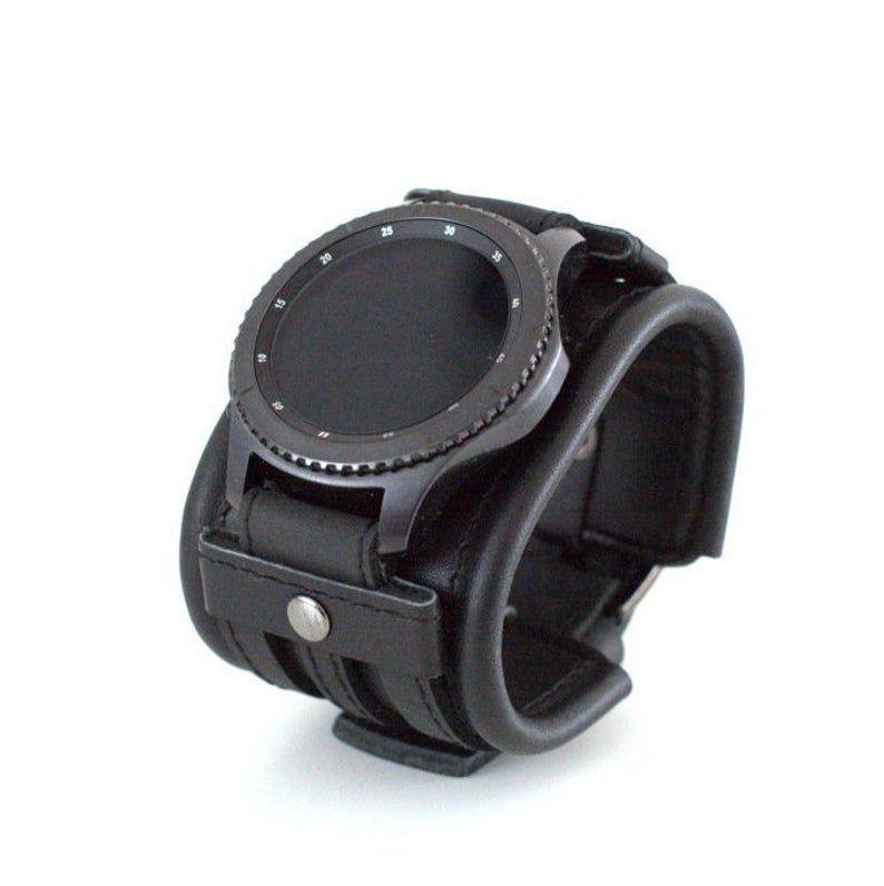 Correa de cuero para reloj Samsung Gear S3 Frontier o Classic | Etsy