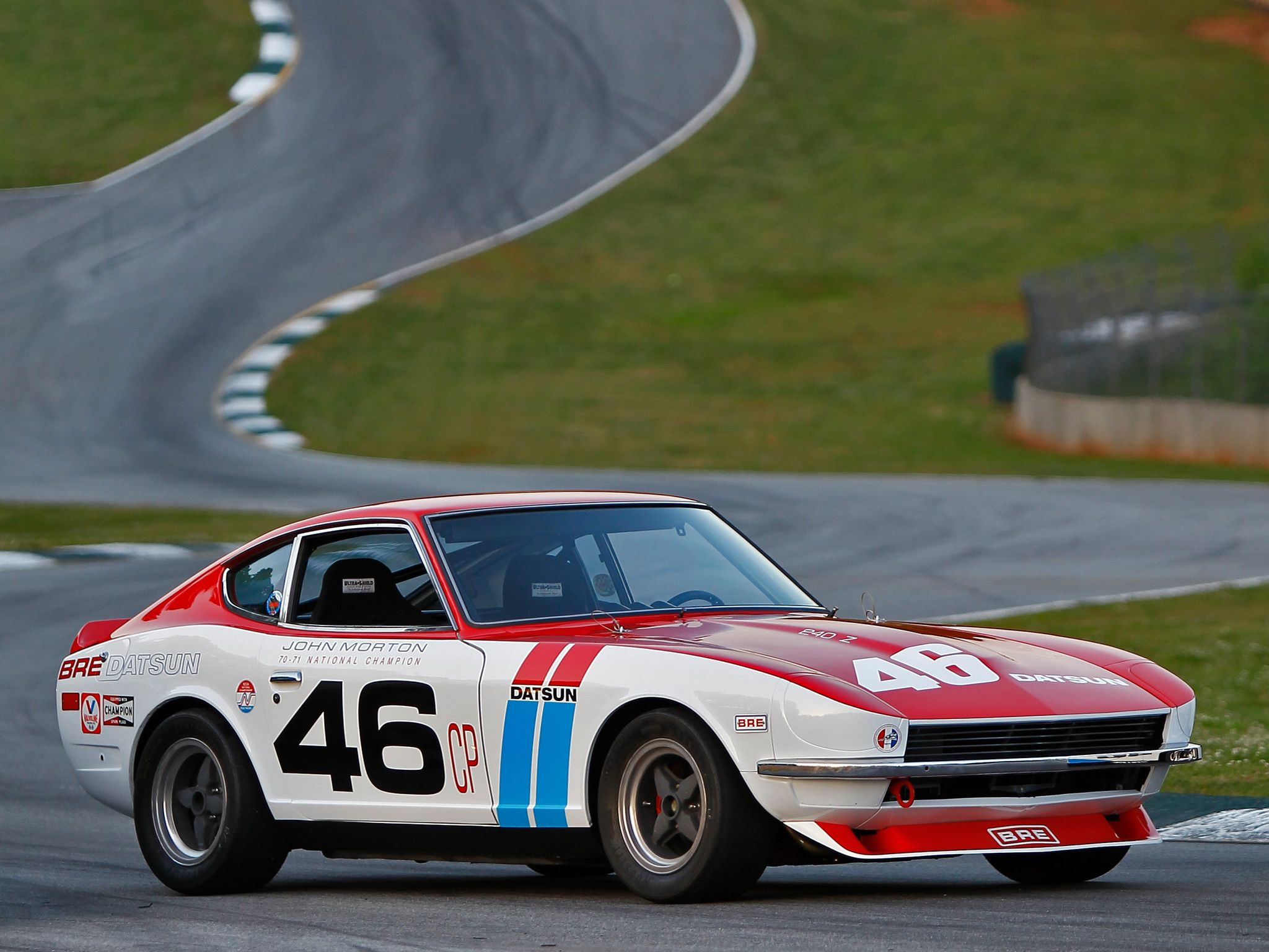 Datsun 240Z SCCA C Production National Championship race ...