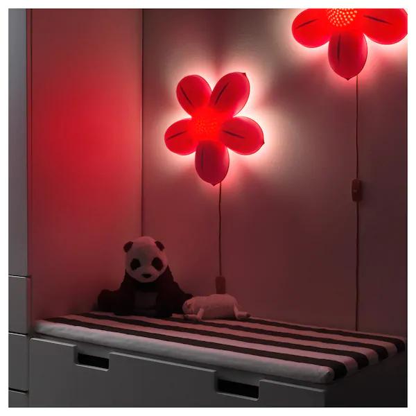 SMILA BLOMMA Lámpara de pared rosa claro IKEA | Wall