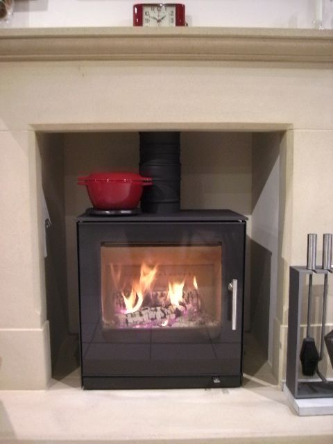 Do Your House Have A Oldschool Fireplace Buy A Stove And Place It