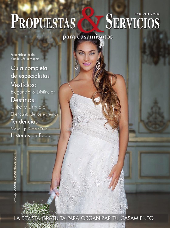 Propuestas & Servicios para casamientos  Nº68 - Abril de 2012