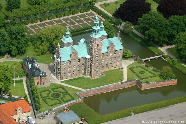 Rosenborg Castle Copenhagen, Denmark