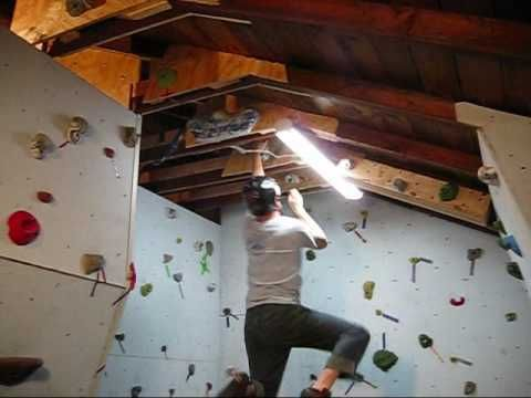 Building A Rock Climbing Wall In The Garage - Part 2 - Wall