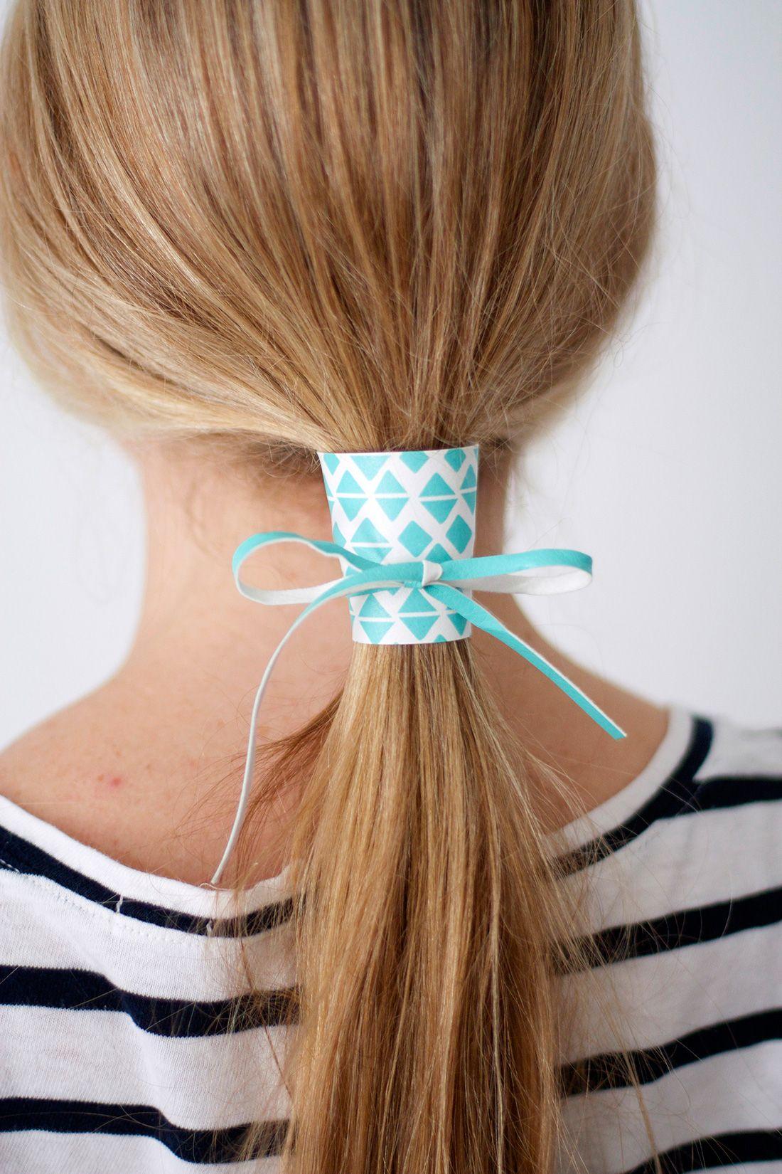 9e0cc22431e Tie One On: 2 Materials, 4 DIY Hair Cuffs via Brit + Co.   Crowns ...
