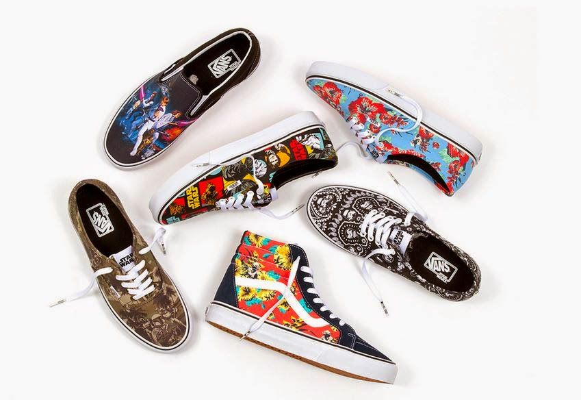 Star Wars x Vans Classics Shoe Collection Available Now