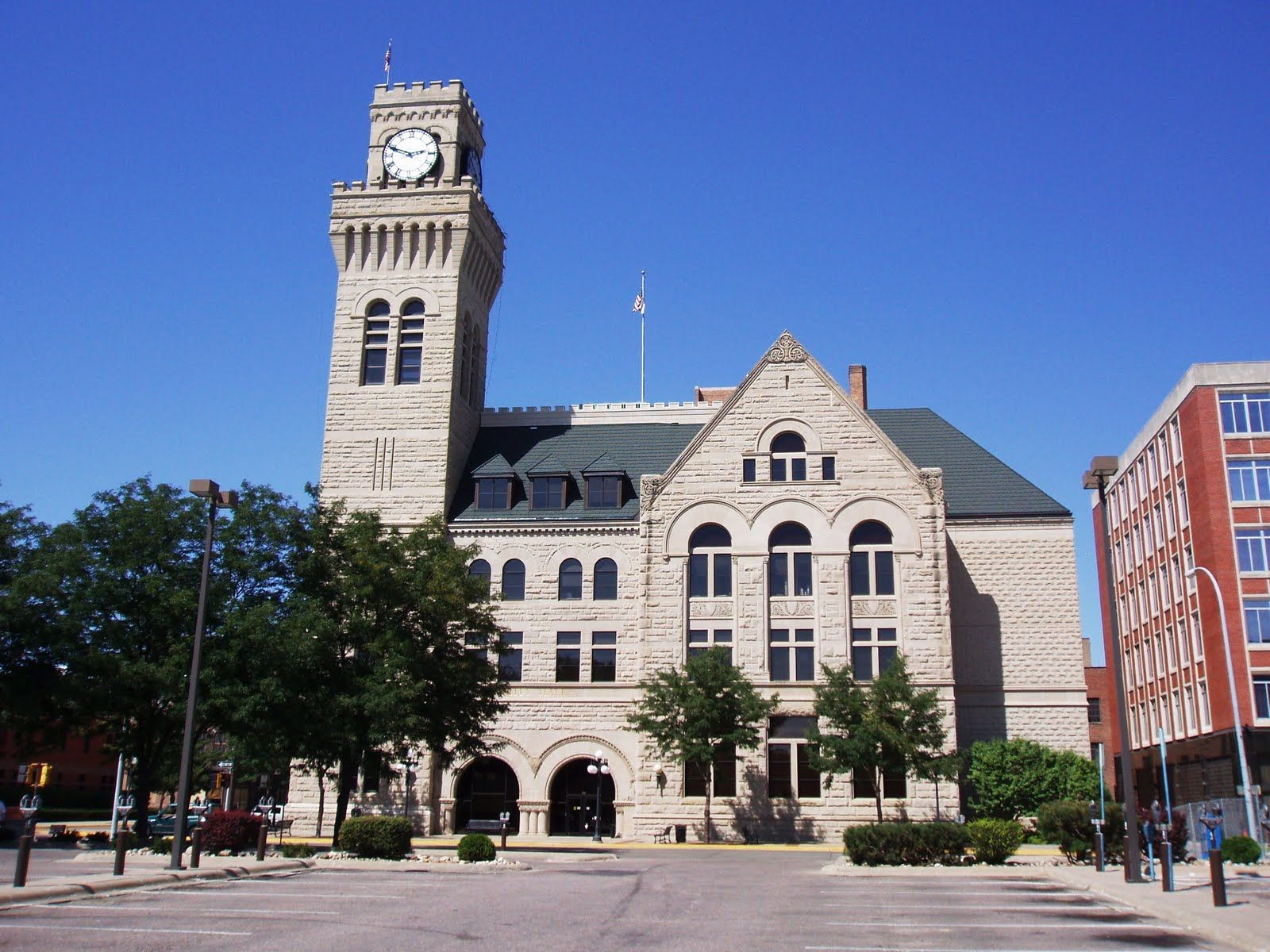 Old federal building aka city hall sioux city ia by
