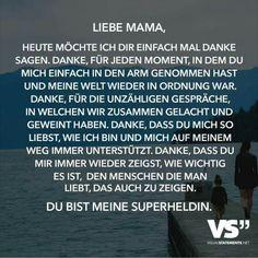 Sprüche Mama Danke
