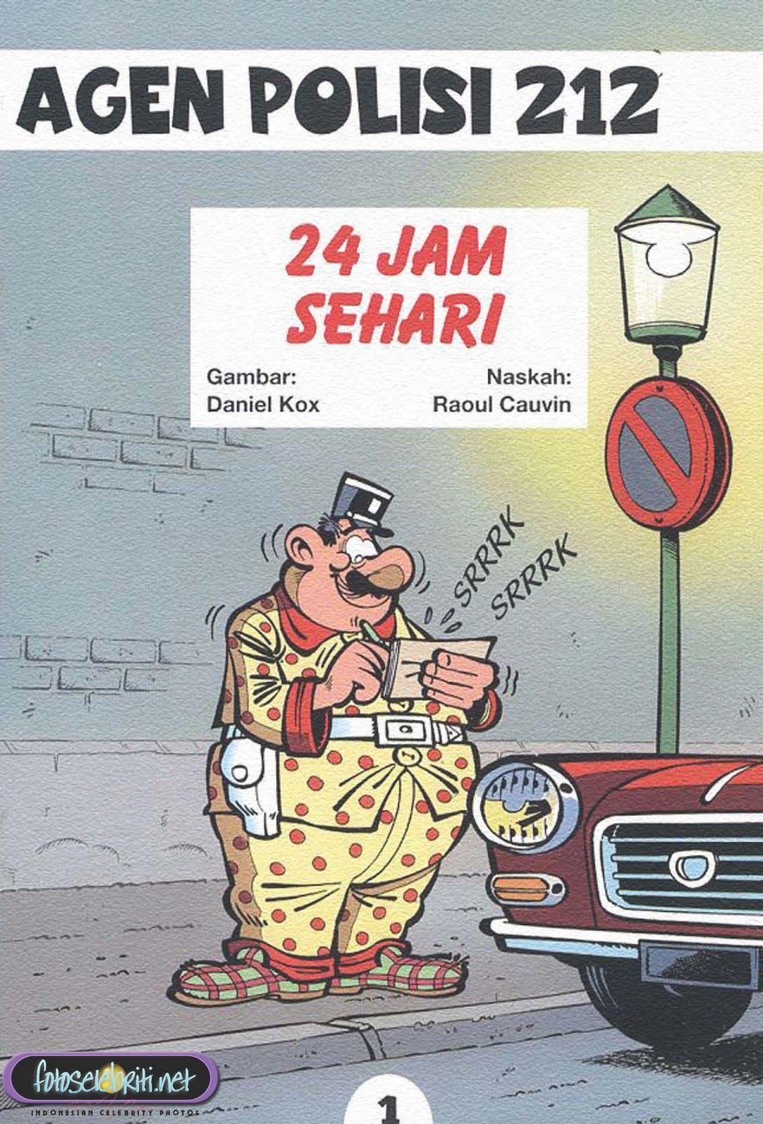 Komik Agen Polisi 212 Buku Komik Komik Komik Anak