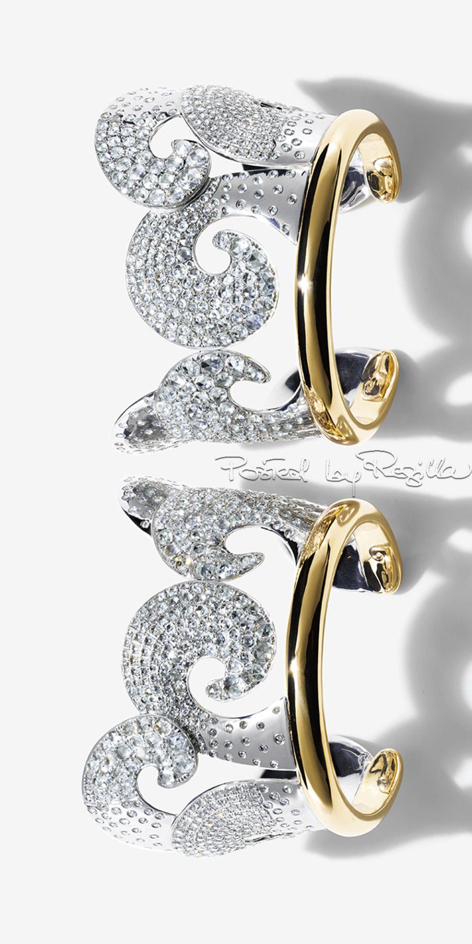 Tiffany Blue Book Diamond Cuffs via Regilla!