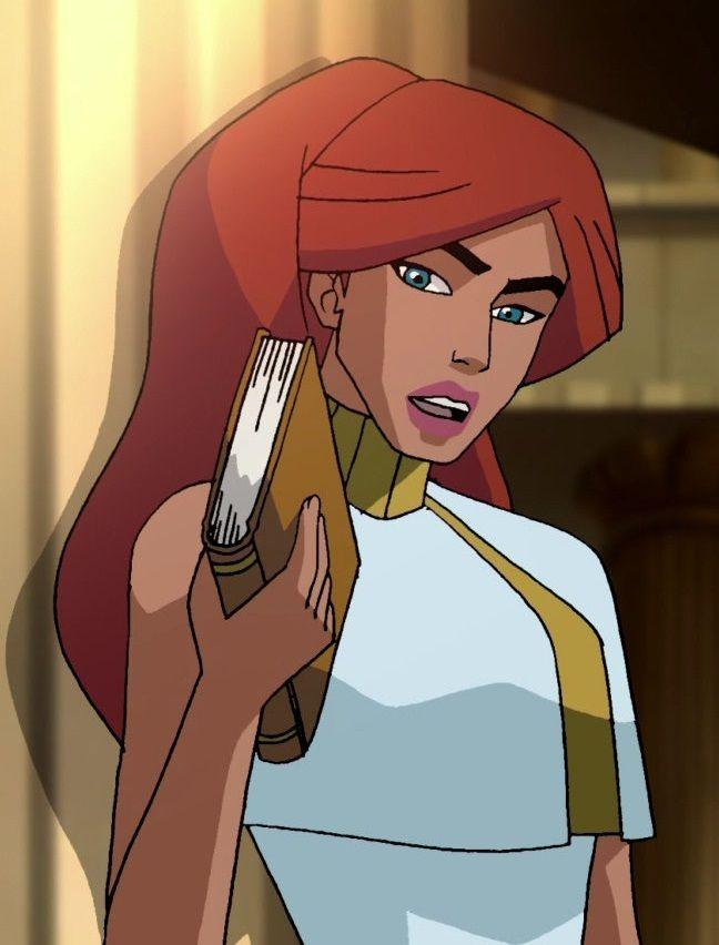 alexa in wonder woman voiced by tara strong 2009 warner home