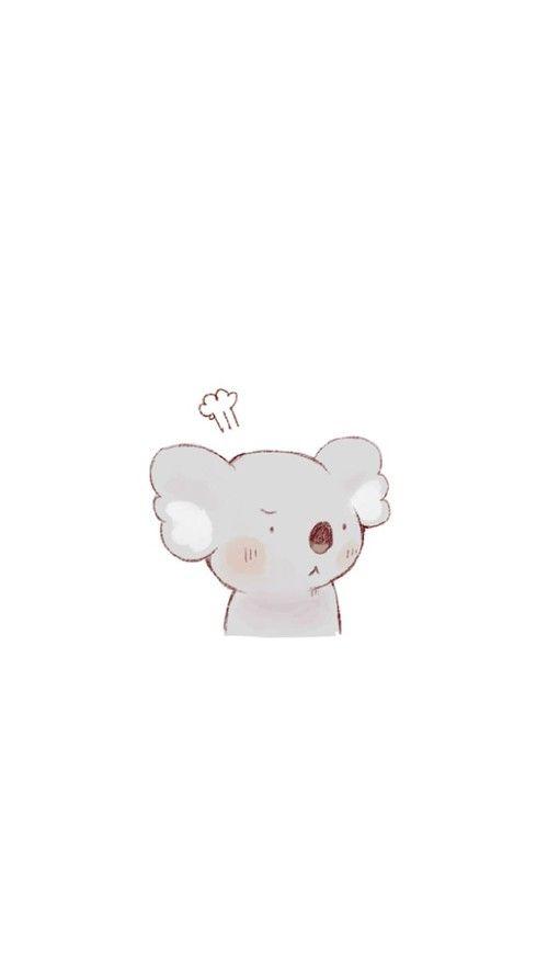 Pin By Gabriela Almeida On Fav Animal Koala Drawing Cute Cartoon Wallpapers Koala Illustration