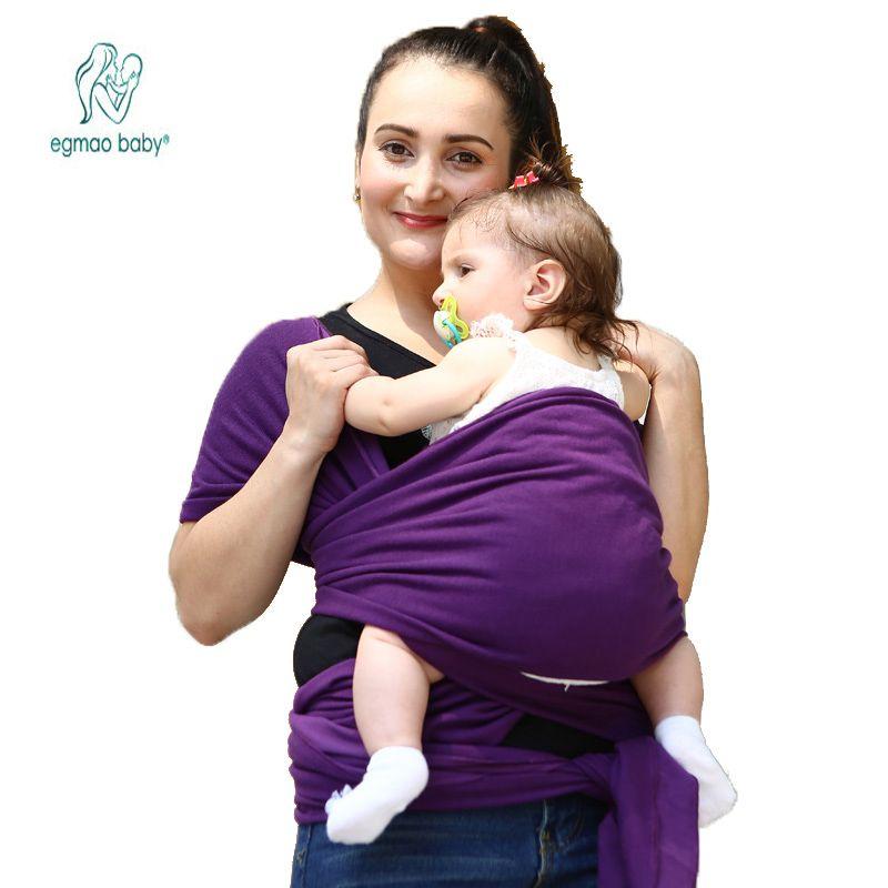 PorteBébé Sling Pour Nouveaunés Souple Infantile Wrap - Porte bébé souple
