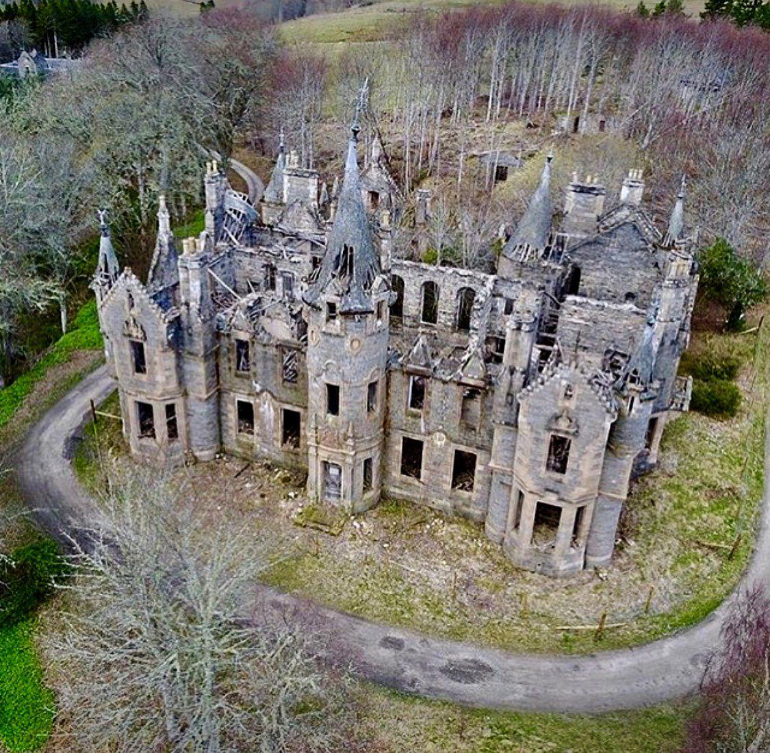 Abandoned Houses, Abandoned Castles, Abandoned