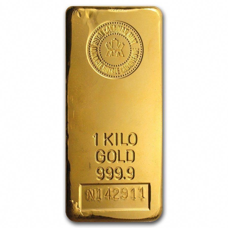 1 Kilo Gold Bar Royal Canadian Mint Rcm Sku 43292 Gold Goldbar Goldcoins Gold Bullion Mint Gold Gold Bullion Coins