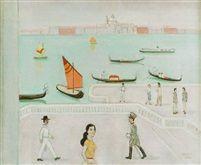 1958 Motiv från Venedig by Einar Jolin
