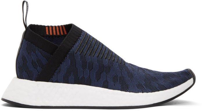 Negro y zapatillas adidas Originals eqxgoa nmdcs2 PK Indigo