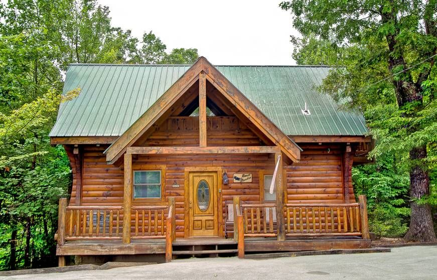 ALMOST PARADISE Cabin rentals, Secluded cabin