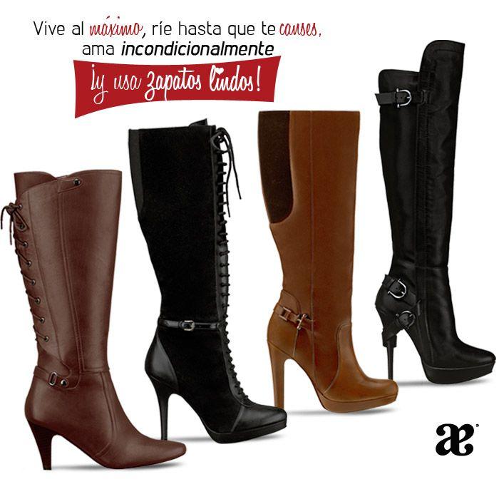 1c33de26 Vive al máximo, ríe hasta que te canses, ama incondicionalmente ¡y usa  zapatos lindos! #Love #ModaAndrea