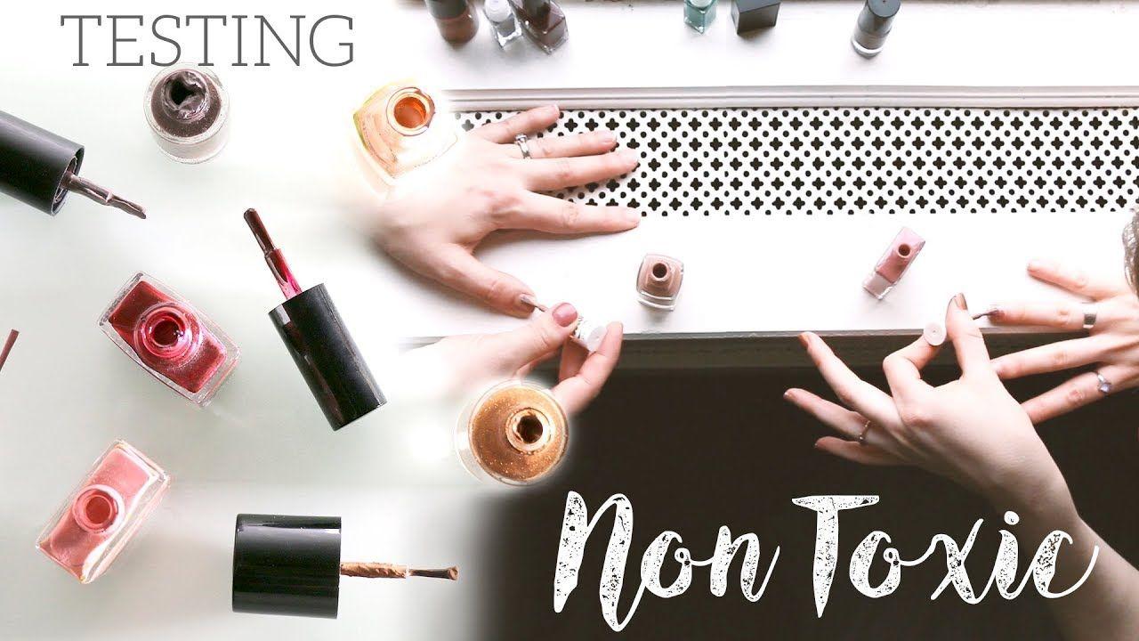BEST NONTOXIC NAIL POLISH testing 5 brands Nail