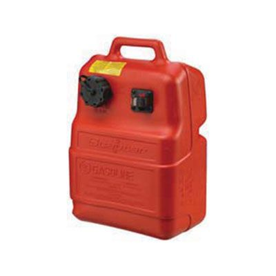 Scepter Portable Fuel Tank 6 6 Gallon With Gauge 8580 Marine Scepter Fuel