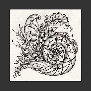 Fairy Tangles: A Few New Zentangles