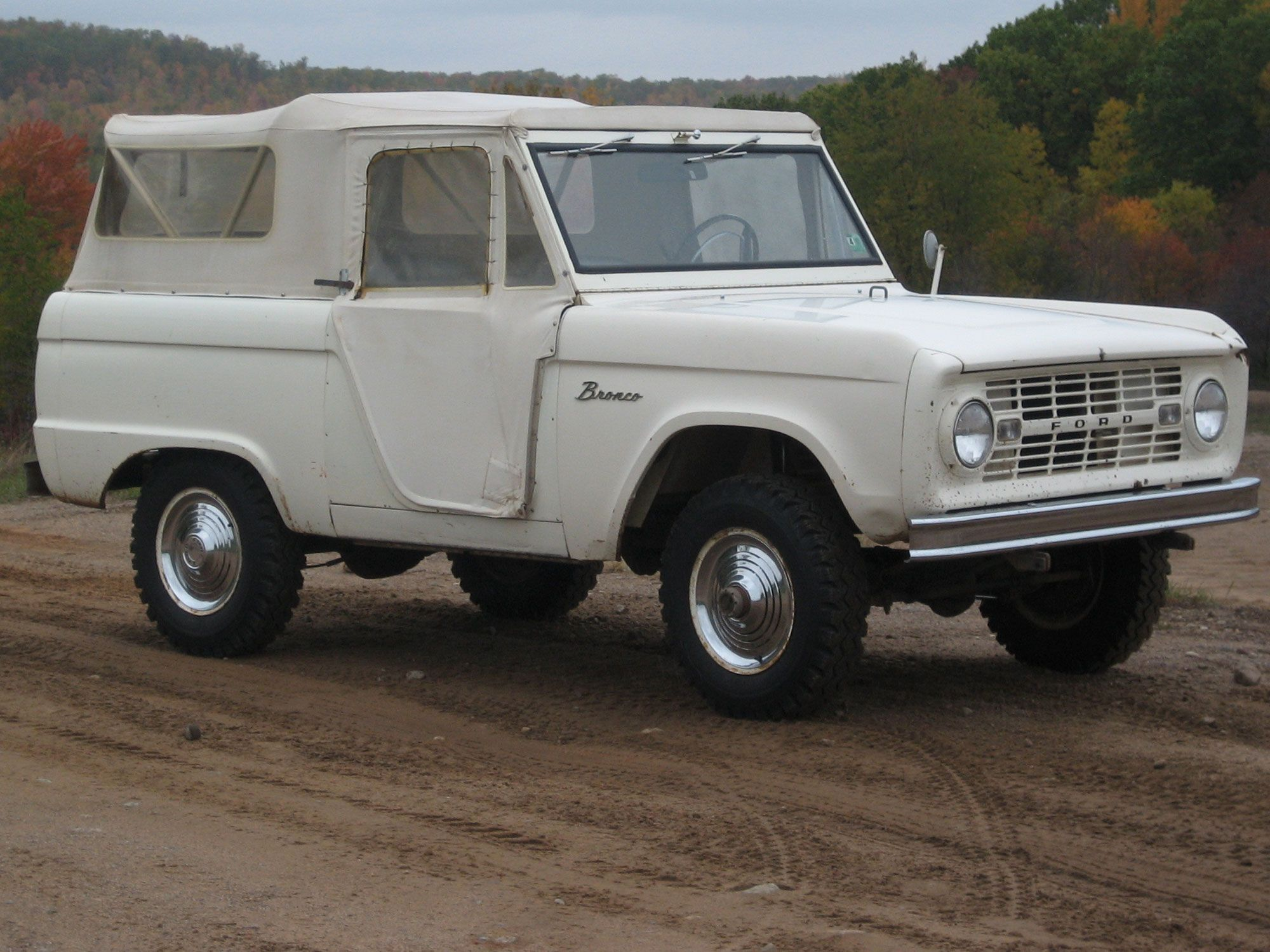 History Of The 1966 1968 Ford Bronco Roadster U13 Ford Bronco