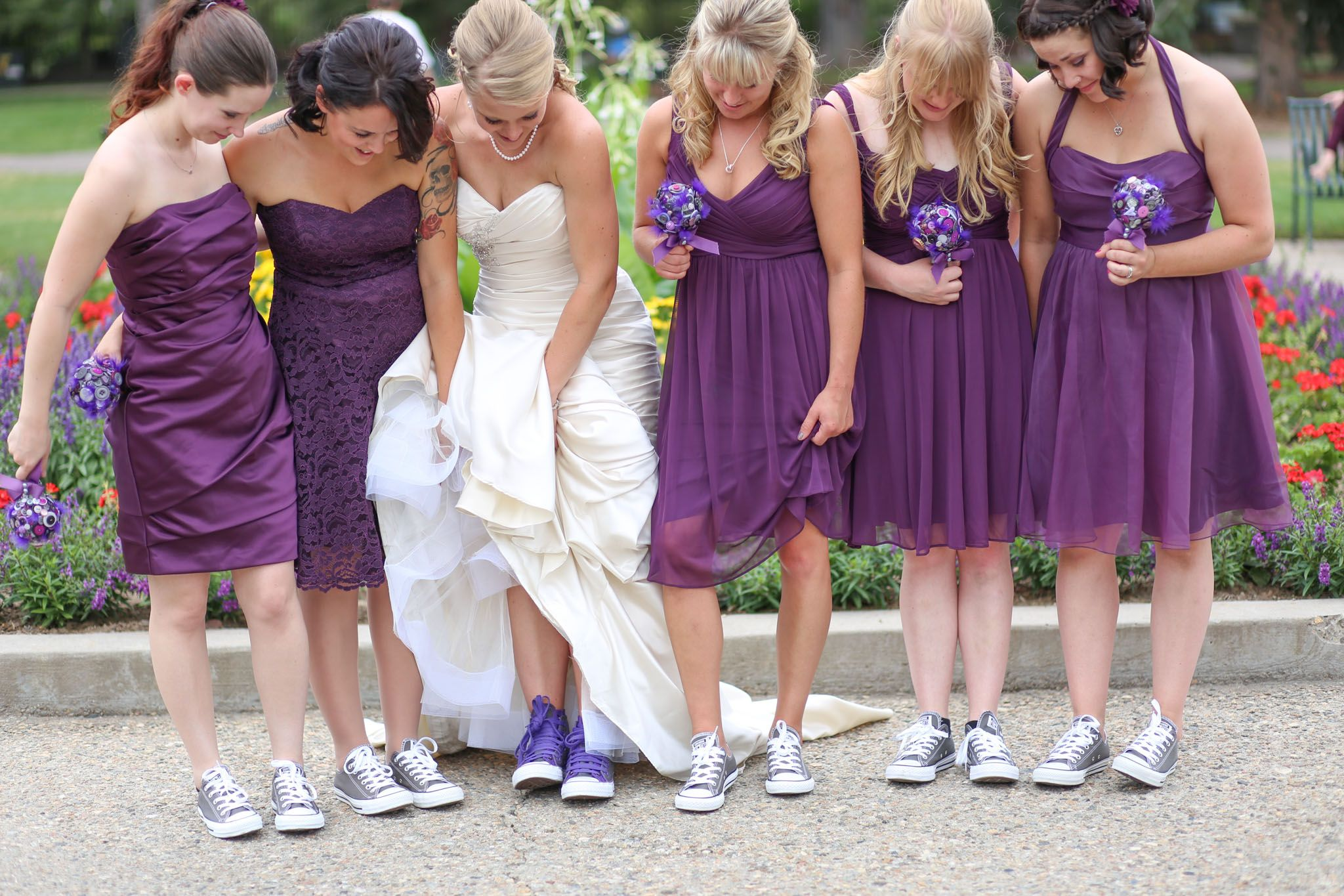 Converse wedding shoes!! Yes please!! The most comfortable