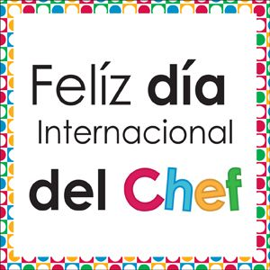 Hoy 20 de Octubre #DiaInternacionalDelChef Felicidades a todos los profesionales de este gran sector