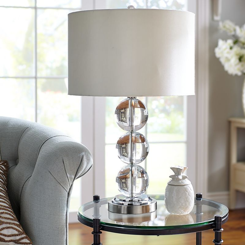 Serena Crystal Table Lamp Lamparas Pinterest