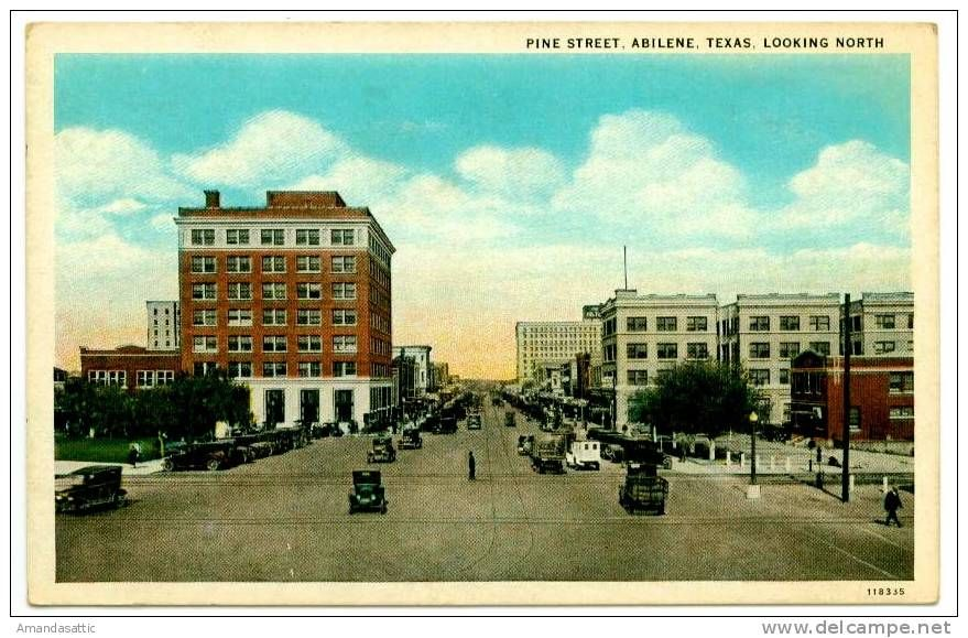 Postcards > America > United States > TX Texas > Abilene