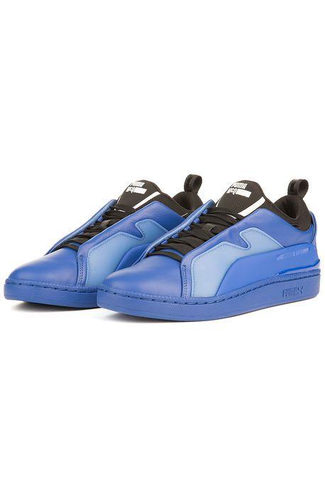 da948303dd75 The Puma x MCQ Brace Lo Sneaker in Surf The Web and Puma Black