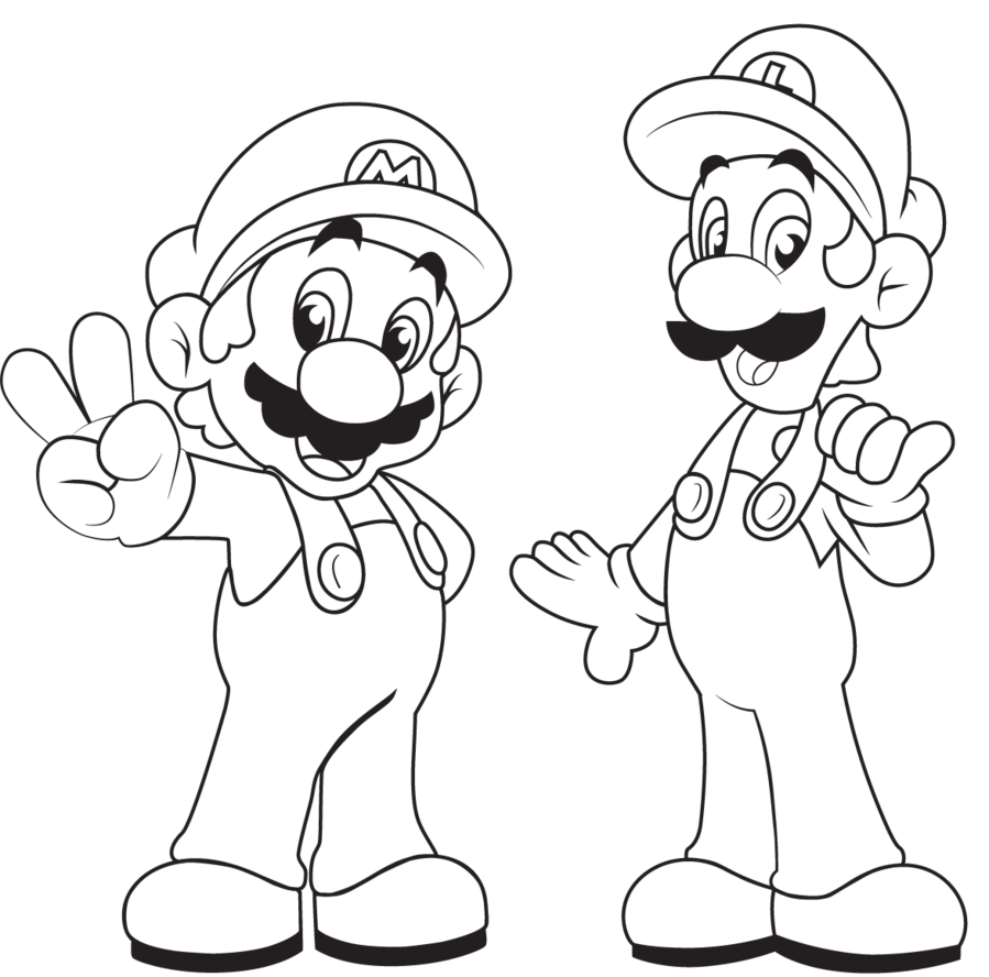 Mario Brothers Coloring Pages1 Png 899 888 Super Mario Coloring Pages Mario Coloring Pages Bear Coloring Pages