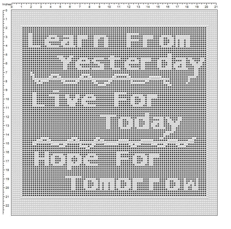more sayings - free_filet_crochet_patterns | filet crochet ...