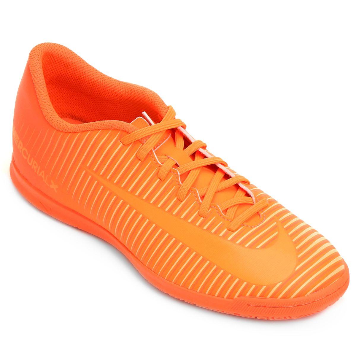 9afc41be8e0 Chuteira Futsal Nike Mercurial Vortex 3 IC - Laranja