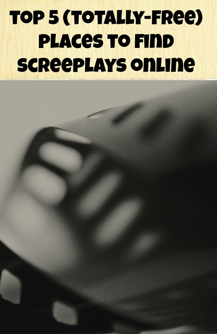 blog top 5 places to find screenplays online http scriptbully