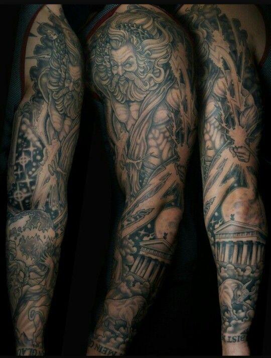 Greek Gods Tattoo Greek Tattoos Tattoos Guru Tattoo