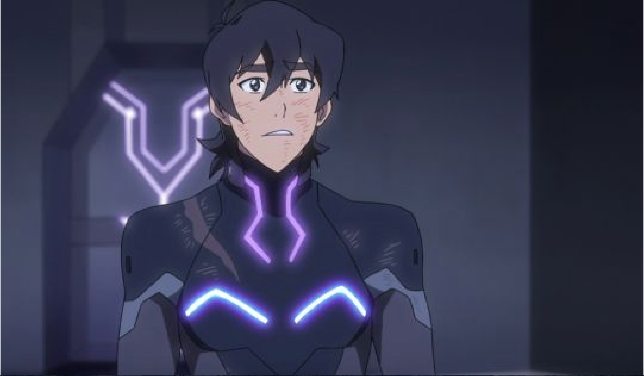 Keith In His Galra Armor In Fighting Battle Challenge In