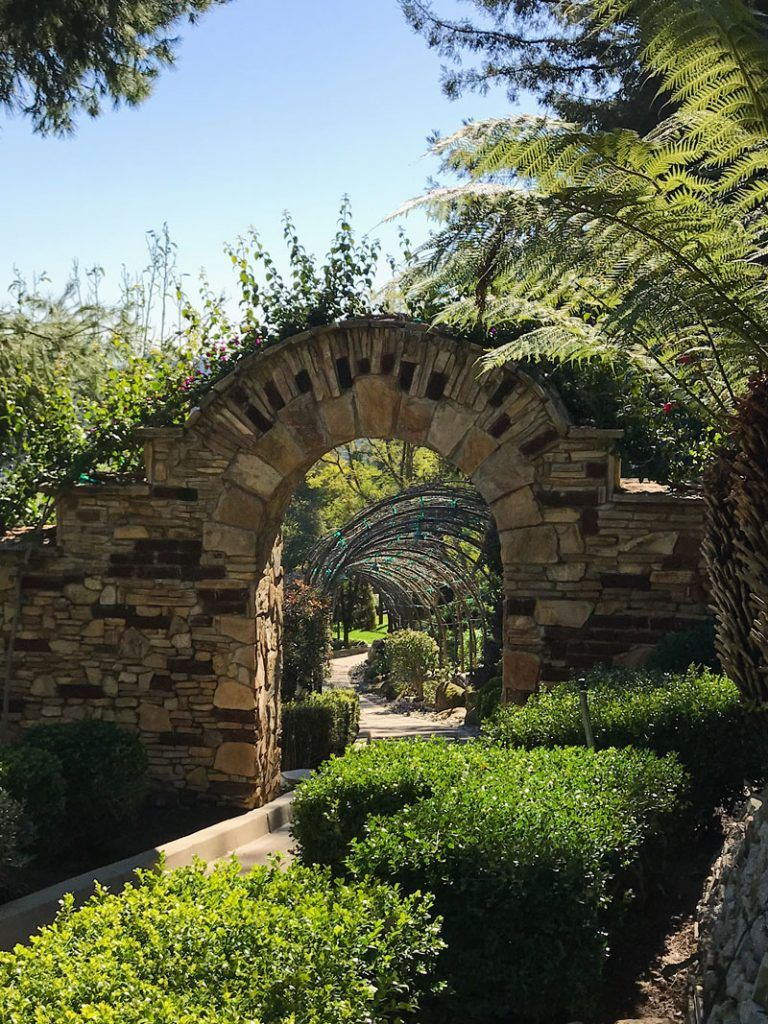 A Taste Of Old Hollywood Mediterranean Garden Old Hollywood Garden Theme