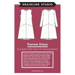 Grainline Studio Farrow Dress Sewing Patterns Cotton Reel Studio