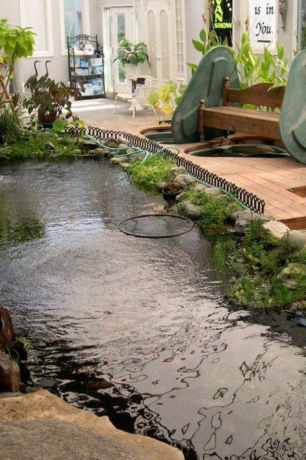 Tips for Building Ponds in Your Backyard   Koi pond design ...