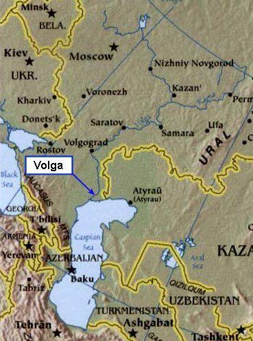 Volga River For Residents Pinterest Rivers Volga Germans - Volga river on world map