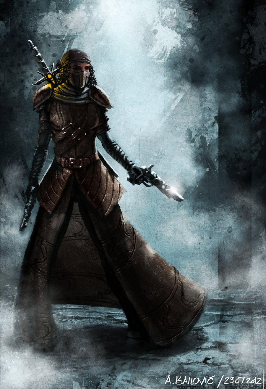 Human Thief - Guild Wars 2 Fan Art Speedpaint by *SkavenZverov on