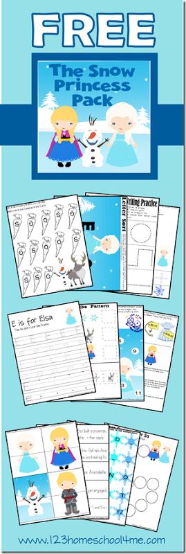 Free Disney Frozen Worksheets For Kids Pinterest Toddler