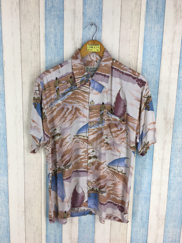 0eda2f935 Pin by JUNKDELUXERETRO on HAWAIIAN SHIRT ALOHA in 2019 | Hawaii surf, Aloha  shirt, Hawaiian