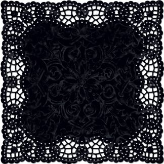 Custom printed paper doilies