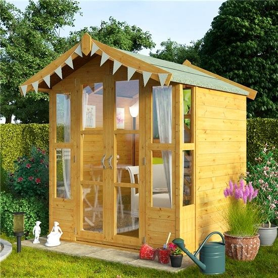 The BillyOh Lucia Summerhouse Range - Traditional Summerhouses ...