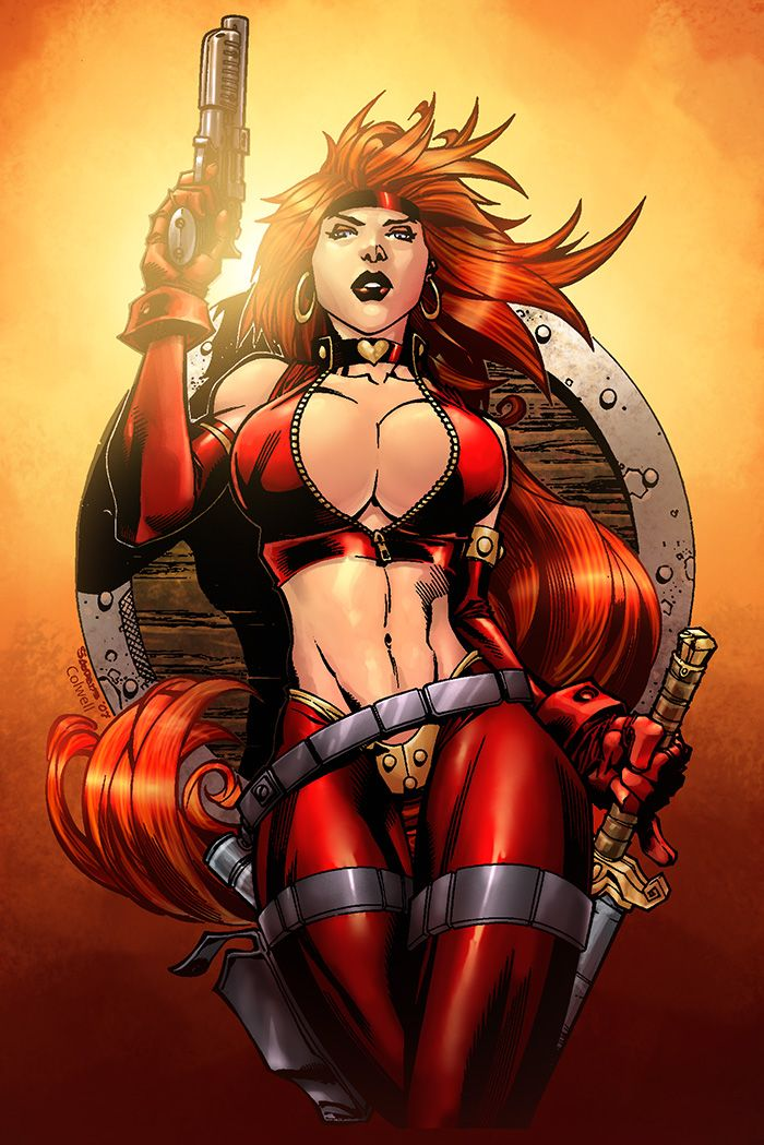 Red Monica by ~JeremyColwell on deviantART